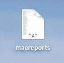 Comment enregistrer un fichier au format TXT?